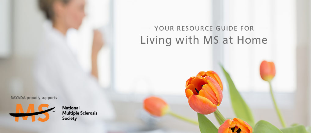 your resource guide for living with MS at home